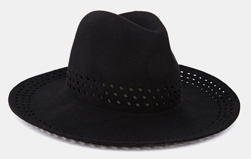 Sombrero de mujer calado