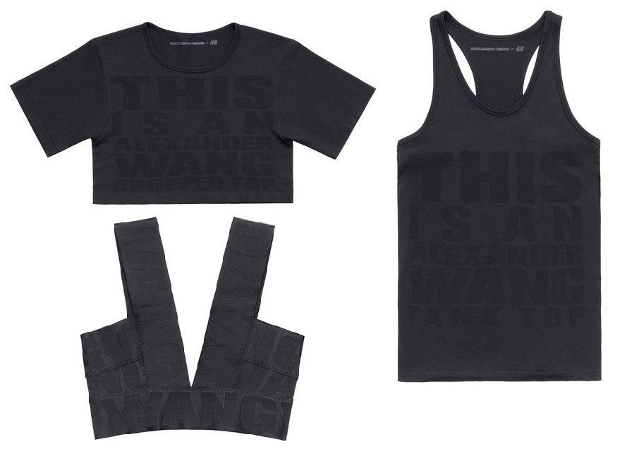 Alexander Wang - Camisetas con mensaje
