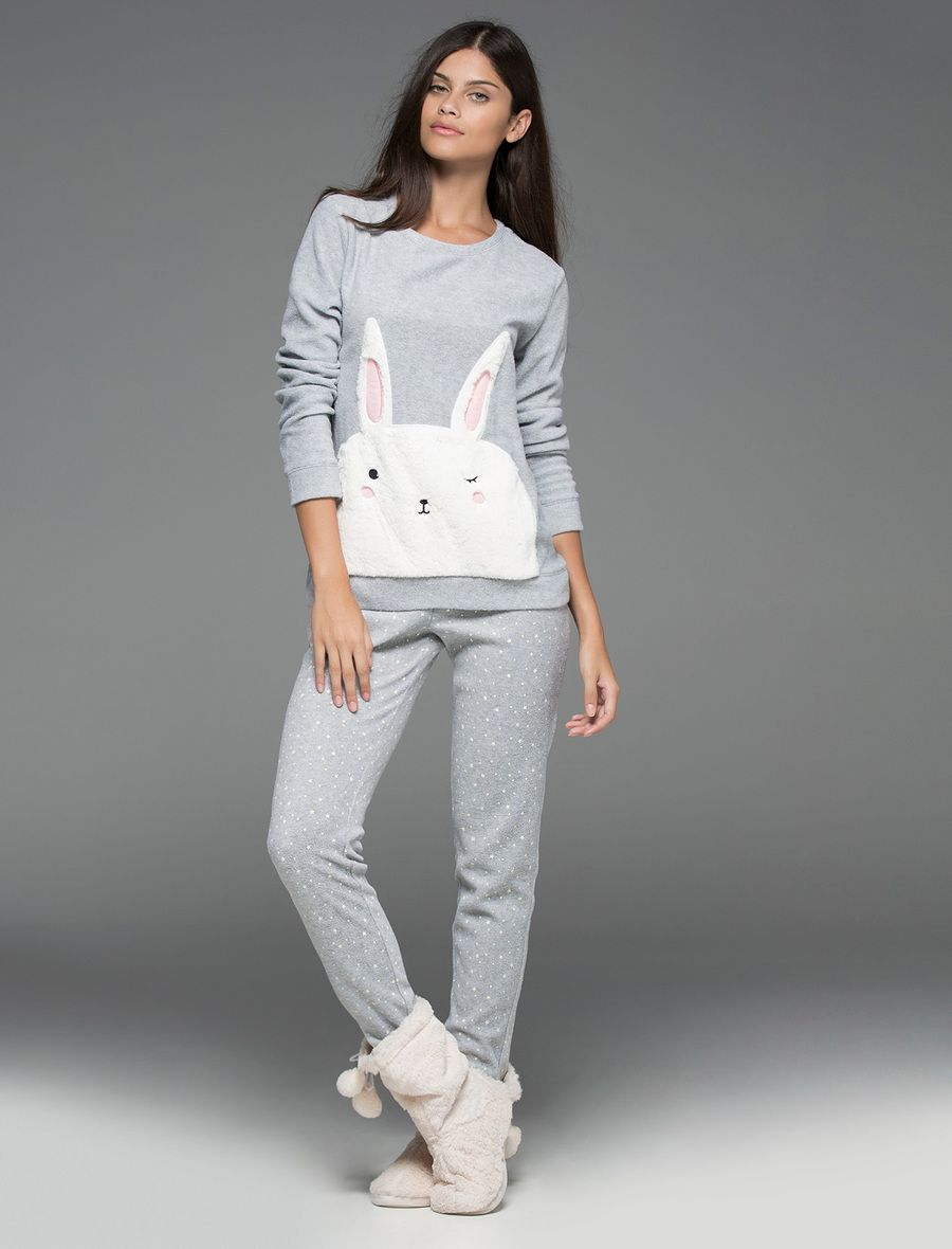 Pijamas de mujer con animalitos adorables