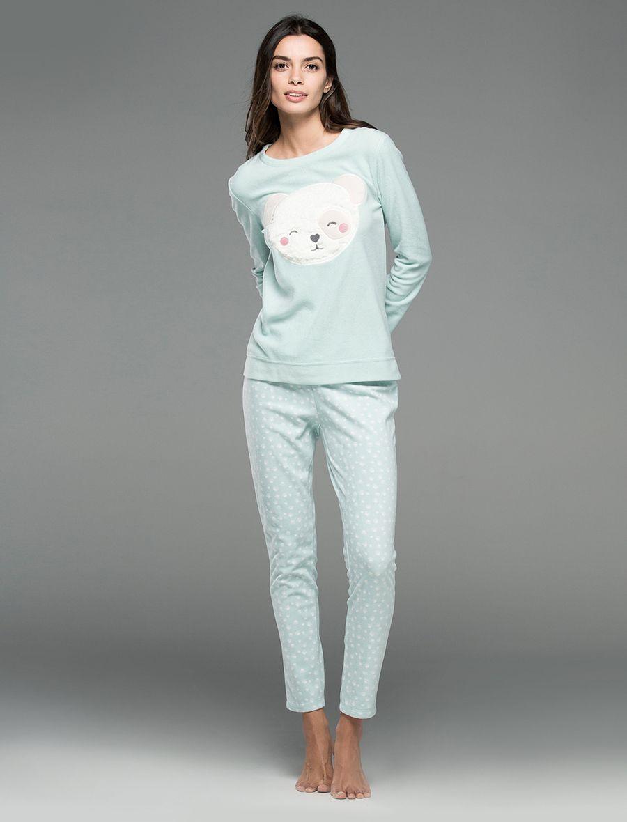 Pijamas de mujer polares para invierno