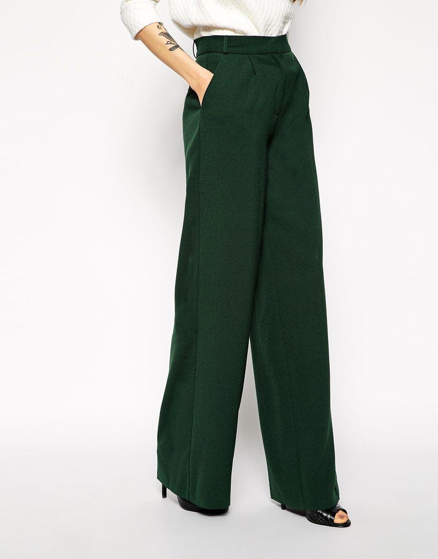 Tendencias en pantalones elegantes palazzo