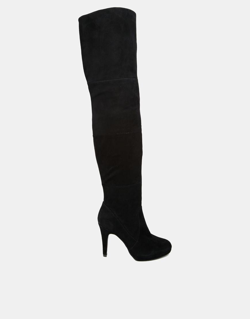 Botas de caña alta con tacón de Asos