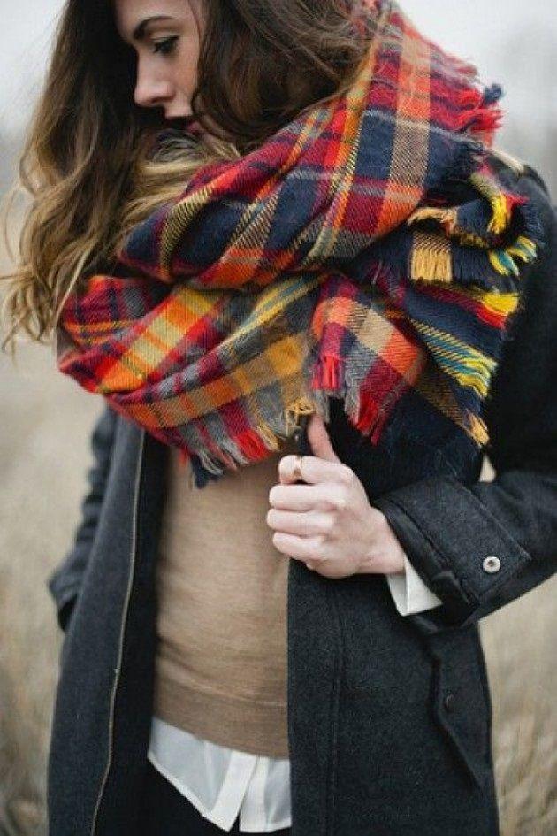 Como poner maxi bufanda