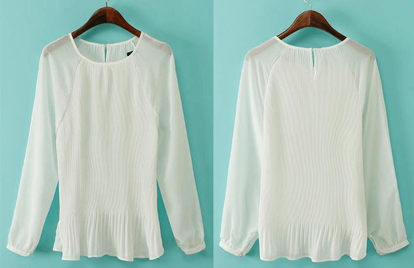 Camisas de fiesta baratas de color blanco