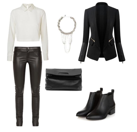 Cómo vestir para una cena de empresa - Pantalón y chaqueta