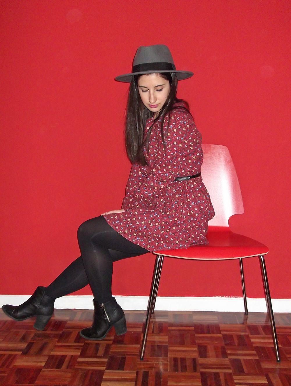 Comprar en BangGood - Vestido estampado de invierno