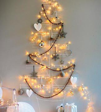 Luces navideñas para decoración horizontal