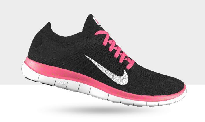 Zapatillas Nike - Negro y rosa