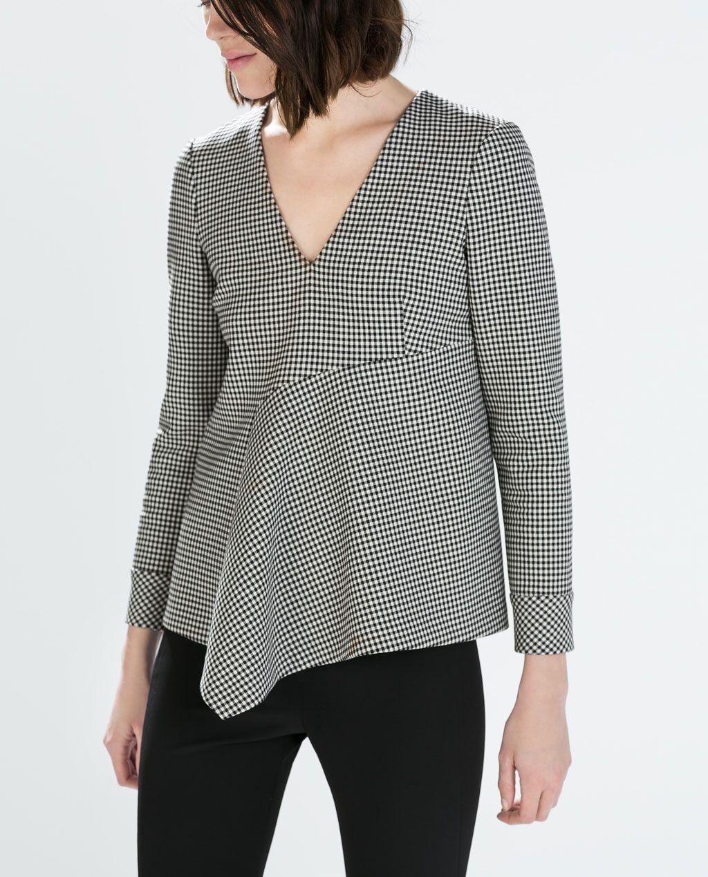 Camisas y blusas de Zara