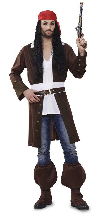 Disfraces de carnaval originales - Jack Sparrow