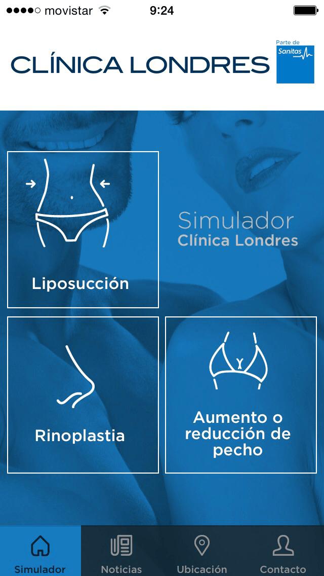Clínica Londres - App cirugía estética