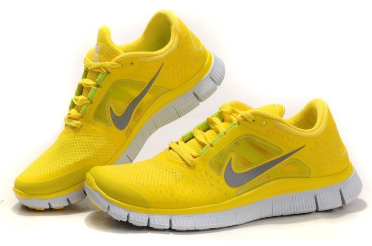 Nike free 5.0 amarillas