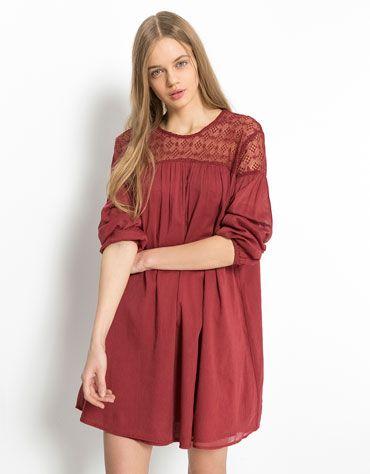 Vestidos Bershka primavea- verano estilo casual