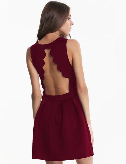 Vestidos con espalda al aire