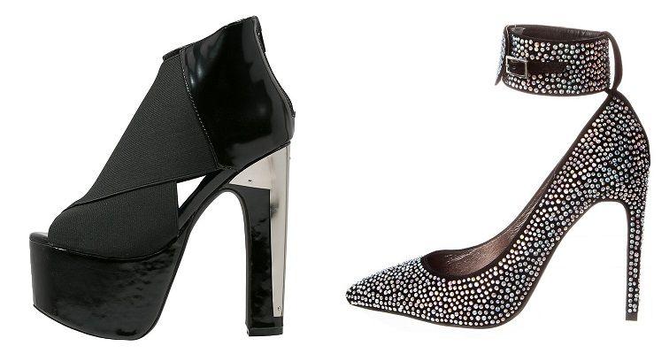 Zapatos Jeffrey Campbell de plataforma y tacón