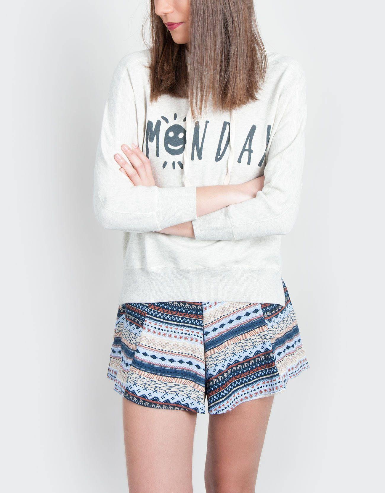 Shorts y dudadera