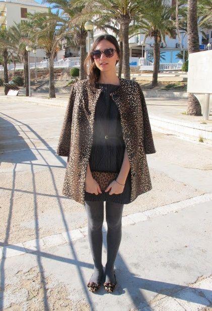 Combinar unas bailarinas de leopardo con total print