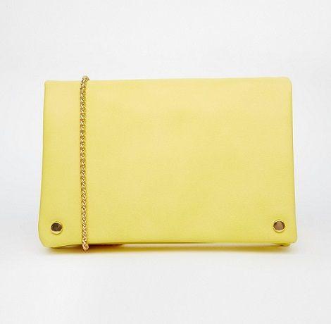 Bolsos amarillo limón en Asos