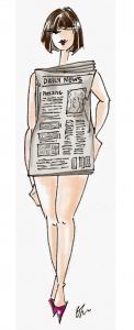 Cómo vestir según tu tipo de cuerpo - cilindro