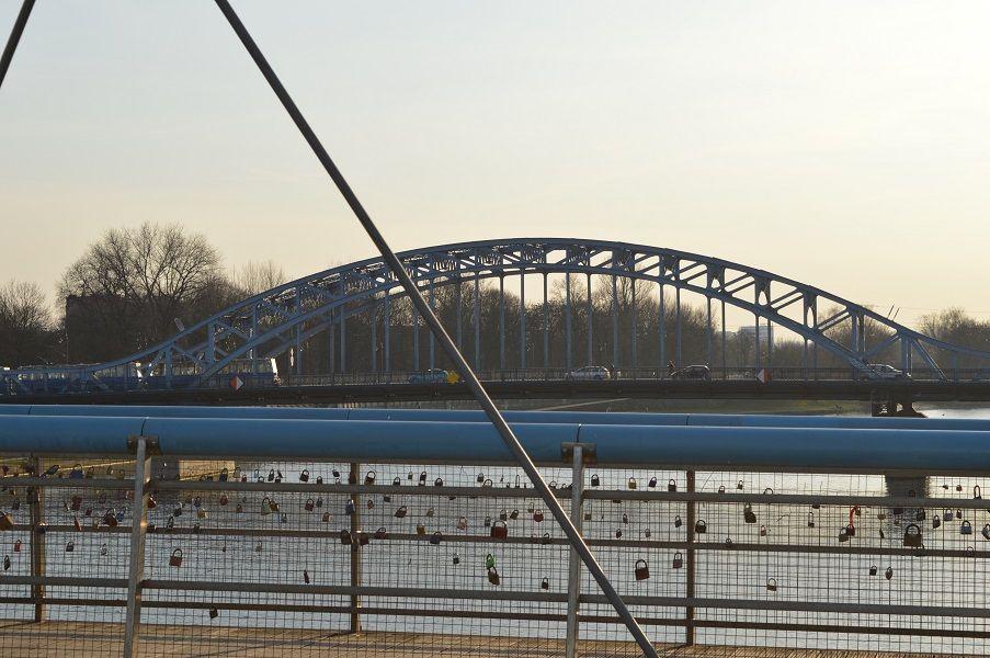 Puente con candados