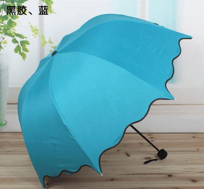 Paraguas femenino en varios colores