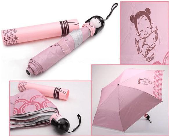 Paraguas geishas