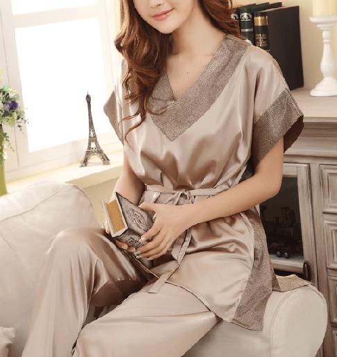 Pijama marrón