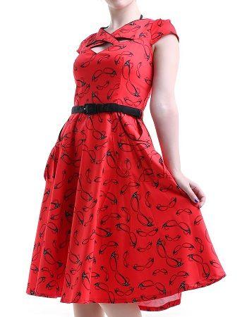 Vestido pin up rojo