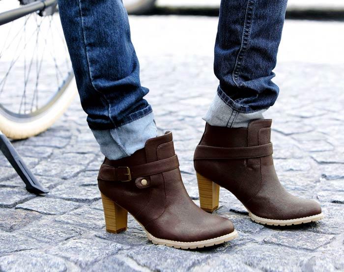 Cambio de armario de zapatos de invierno