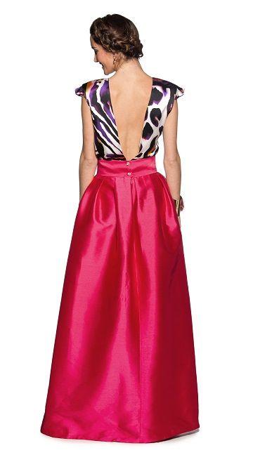 Conjunto con falda
