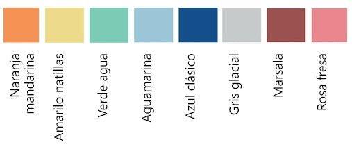 Tendencias de ropa por colores
