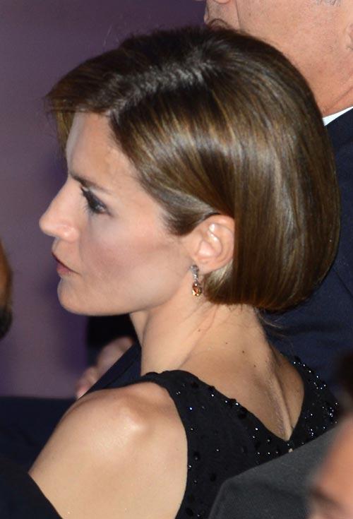 Peinado bob reina Letizia