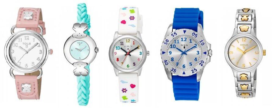 Relojes Tous para niñas