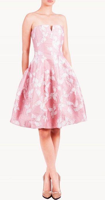 Vestido rosa vuelo en alquiler de vestidos 24fab