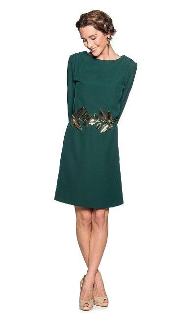 Vestido Verde Botella Tu Moda Online