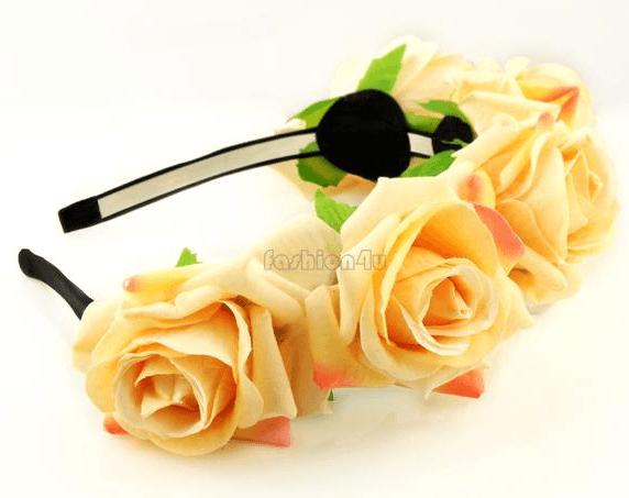 Coronas de flores para el pelo