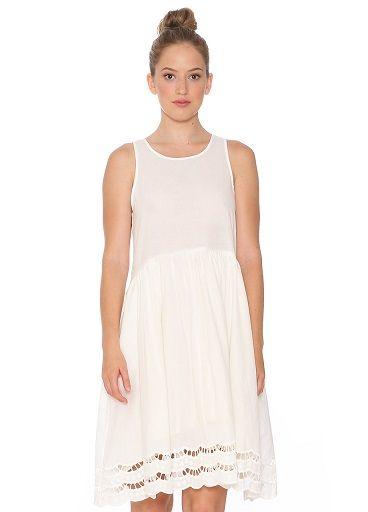 Vestido blanco Pepa Loves