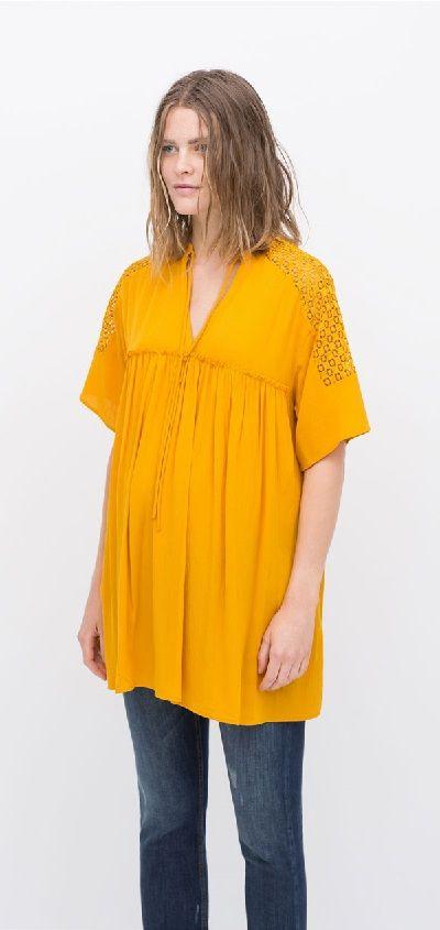 Blusón amarillo