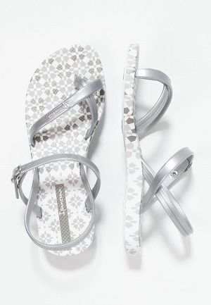 Chanclas Ipanema plata