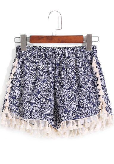 Shorts cashemere