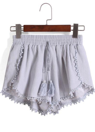 Shorts grises