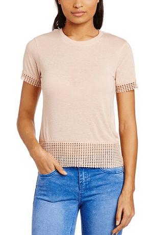 Camiseta de verano calada