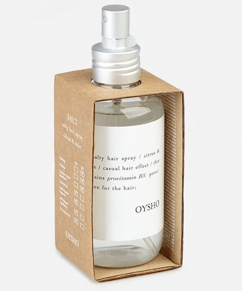 Productos de cosmética natural de verano