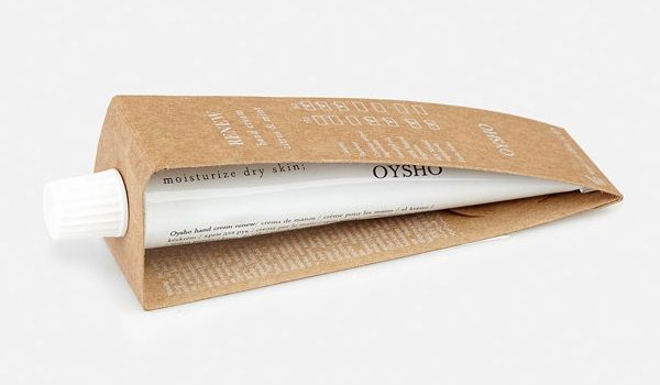 Productos de cosmética natural en Oysho