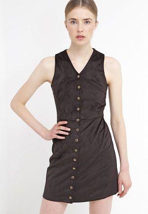 Vestidos de piel baratos online