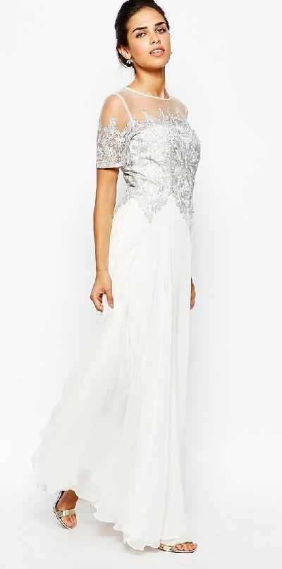 Vestidos de novia baratos online en Asos