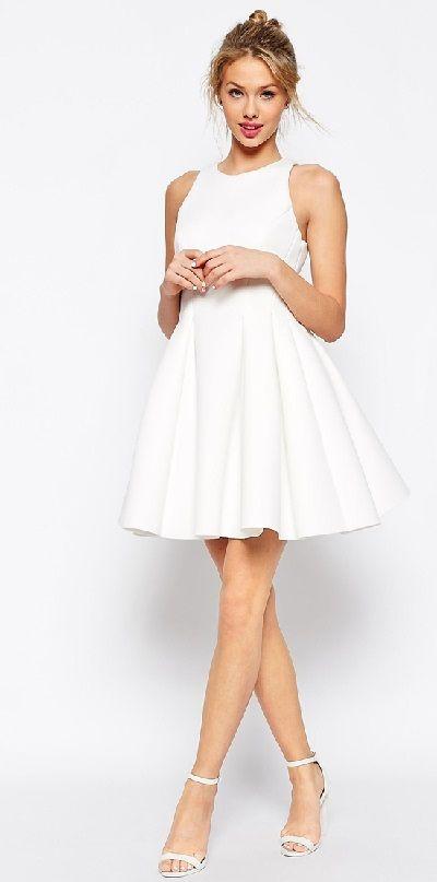 Vestidos de novias cortos baratos