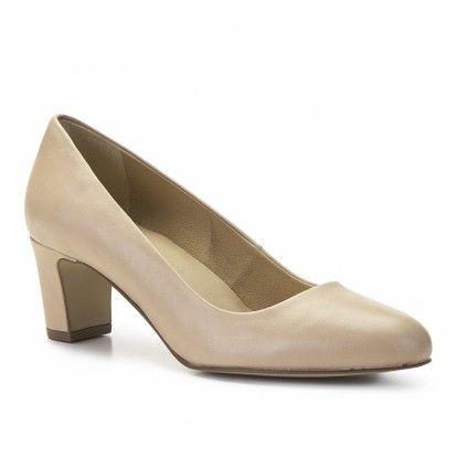Zapatos de piel baratos para mujer