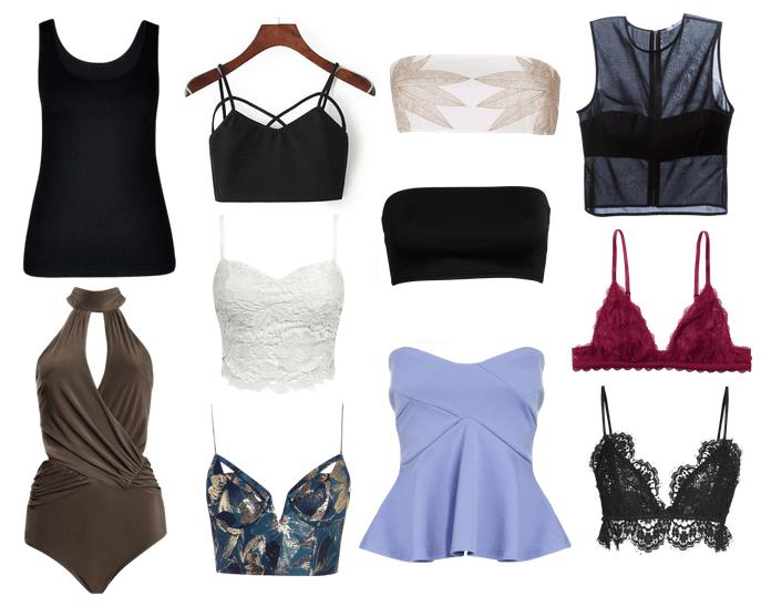 Cómo combinar las camisas transparentes para mujer