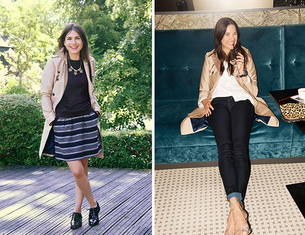 Looks con trench